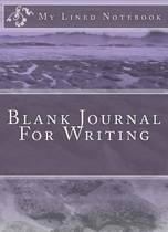 Blank Journal for Writing