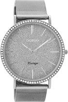 OOZOO Vintage Zilver horloge  (40 mm) - Zilverkleurig