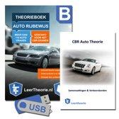 Auto Theorieboek met Auto Theorie Leren en Oefenen USB en Auto Rijbewijs B Samenvatting 2019 (NIEUW!)