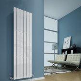 Sanifun design radiator Boston 1200 x 410 Wit