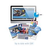 Motor Theorieboek Engels 2019 - Driving Licence or License A Theory Book - Met 15 Uur Online Examentraining + CBR Informatie en Verkeersborden