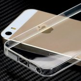 Apple iPhone 5 / 5S / iPhone SE Ultra dun 0,3mm Siliconen Gel TPU Hoesje / Case / Cover Transparant Naked Skin