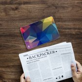 Apple iPad Mini 4 Uniek Tablethoesje Polygon Dark