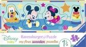Ravensburger houten puzzel Disney babies - 4 stukjes