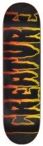 Creature Logo Outline Hard Rock Maple deck 8.375
