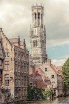 DP® Diamond Painting pakket volwassenen - Afbeelding: Belfry - 50 x 75 cm volledige bedekking, vierkante steentjes - 100% Nederlandse productie! - Cat.: Stad & Land