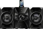 Sony MHCEC619IP - Audiosysteem - Zwart