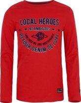 Retour Jeans Jongens T-shirt - Bright red - Maat 146/152