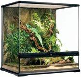 Exo Terra Glas Terrarium - Zwart - 60 x 45 x 60 cm