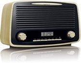 Lenco DAR-012 DAB+ Radio met Bluetooth en AUX-ingang - Hout