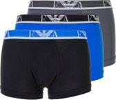 Emporio Armani Boxershort - Maat S  - Mannen - grijs/ blauw/ zwart