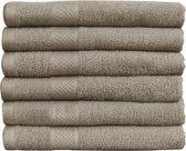 Katoenen Handdoeken Hotelkwaliteit – 15 Pack – 70 x 140 cm – Taupe