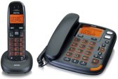 Switel DECT telefoon set met grote knoppen en antwoordapparaat