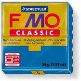 Fimo Classic blauw 56GR 8000-37