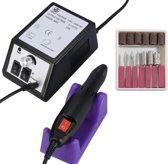 Professionele Nagelfrees Machine Set - Nagel Freesmachine Voor Manicure & Pedicure Motor - Pedicureset - Nagels - Vijlen - Nepnagels - Nagel Frees Elektrische Vijl met Bitjes - Nagelvijl - Polijsten - Polijst Machine
