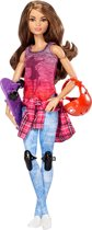 Barbie Made to Move Skateboarder