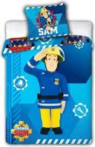 Ledikant Baby Dekbedovertrekje - Brandweerman Sam - 100 x 135 cm