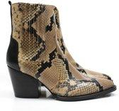 Toral western boots 12226 - beige / combi