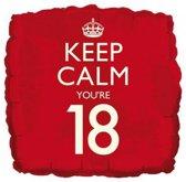Keep Calm folie ballon 18