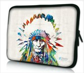 Laptophoes 14 inch Indiaan - Sleevy - Laptop sleeve - Macbook hoes - beschermhoes