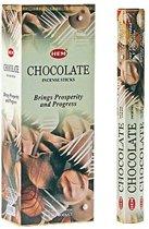chocolate wierook (HEM)