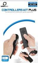 MiniBird WiiU CONTROLLERS KIT PLUS Zwart