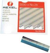 Rexel nietjes No 28 10,6 X 7 mm nietjes a 5000 stuks