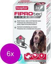 Beaphar Fiprotec Combo Dog 3 pip - Anti vlooien en tekenmiddel - 6 x 10-20kg