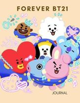 Kpop Forever Bt21 Big Journal for Bts Armys Oppa and Bias