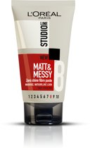 L'Oréal Paris Studio Line Matt & Messy Zero Shine Fibre Paste - 150 ml