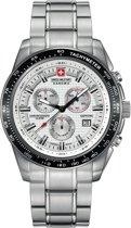 Swiss Military Hanowa 06-5225.04.001 horloge heren - zilver - edelstaal