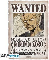 One Piece - Scroll The Wanted Zoro (33X49) X6