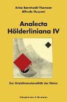 Analecta Hölderliniana IV