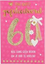 60 Van harte gefeliciteerd nog lang...
