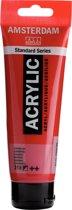 Standard tube 120 ml Karmijn halfdekkende acrylverf