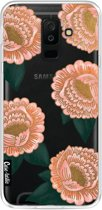 Casetastic Softcover Samsung Galaxy A6 Plus (2018) - Winterly Flowers