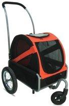 DoggyRide buggy mini - Rood Zwart