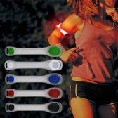 Hofftech LED Sportarmband Hardlopen Verstelbaar Deluxe