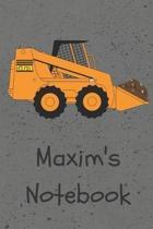 Maxim's Notebook