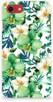 iPhone 8 | 7 bumper Hardcase Hoesje Orchidee Groen