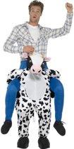Instapkostuum koe voor volwassenen - koeienpak / kostuum