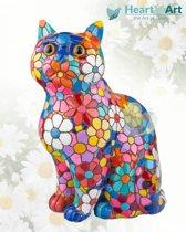 Barcino design barcelona mozaiek kat in bloemdesign 10 cm