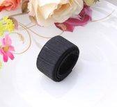 Knot maker - haar accessoires - knot - messy bun - haarband - zwart - DisQounts