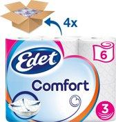 Edet Comfort Toiletpapier - 3-laags - 24 rollen