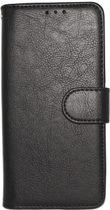 Samsung Galaxy S10 Hoesje - Hoge Kwaliteit Portemonnee Book Case - Zwart