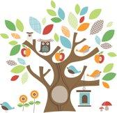 Skip Hop - Muursticker Treetop Friends Wall - Meerkleurig