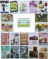 Verjaardagskaarten en Assortie Wenskaarten– Set van 20