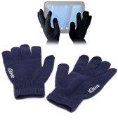 iGlove Touchscreen handschoenen (touch gloves), Donker blauw