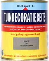 Hermadix Tuindecoratiebeits Transparant 787 Slate - 0.75 l