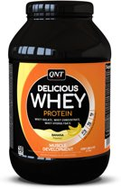 QNT Delicious Whey Protein Powder – Banaan 908gr